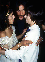 1977 FILE PHOTO<br /> New York, NY<br /> Bianca Jagger GeraldoRivera Liza Minelli<br /> at Studio 54<br /> Photo by Adam Scull-PHOTOlink.net