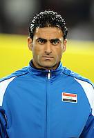 Mahdi Kareem of Iraq. Iraq and New Zealand tied 0-0 during the FIFA Confederations Cup at Ellis Park Stadium in Johannesburg, South Africa on June 20, 2009..