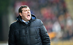 St Johnstone v AberdeenÖ23.02.19Ö  McDiarmid Park    SPFL<br /> Sainst boss Tommy Wright shouts at his players<br /> Picture by Graeme Hart. <br /> Copyright Perthshire Picture Agency<br /> Tel: 01738 623350  Mobile: 07990 594431