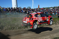 23rd May 2021; Felgueiras, Porto, Portugal; WRC Rally of Portugal, stages SS16-SS20;  Mads Otsberg-Citroen C3 WRC2