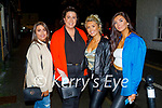 Enjoying the evening in Tralee on Saturday, l to r: Nicole Rusk, Sarah McLoughlin, Christina and Hannah Foley.