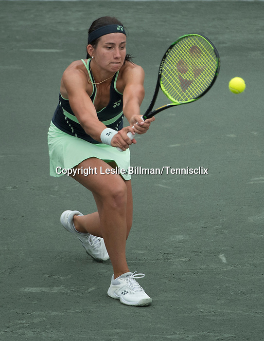 April 4,2018:  Anastasia Sevastova (LAT) defeated Caroline Dolehide (USA) 7-5, 6-7, 6-1, at the Volvo Car Open being played at Family Circle Tennis Center in Charleston, South Carolina.  ©Leslie Billman/Tennisclix/CSM