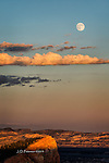 Super Moon Rising over Bryce Canyon, Utah