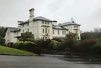 2019 12 11 Lampeter's Falcondale Hotel in Ceredigion, Wales, UK