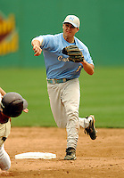 North Carolina Tar Heels' INF/OF Levi Michael in action vs. the Boston College Eagles  at Shea Field May 16, 2009 in Chestnut Hill, MA (Photo by Ken Babbitt/Four Seam Images)