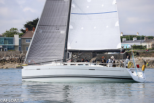 Patrick Burke's Prima Forte - the Best new DBSC yacht of 2020 - is racing to Dingle on Jun 9th
