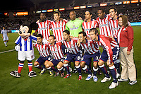 Chivas USA starting eleven. Chivas USA defeated the Colorado Rapids 2-1 at Home Depot Center stadium in Carson, California on Saturday March 21, 2009.