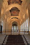 Hallway in the Petit Palais, Paris, France,