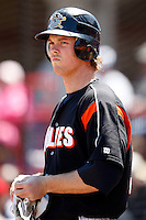 May 31, 2009:  Brennan Boesch of the Erie Seawolves at bat during a game at Jerry Uht Park in Erie, NY.  The Seawolves are the Eastern League Double-A affiliate of the Detroit Tigers.  Photo by:  Mike Janes/Four Seam Images
