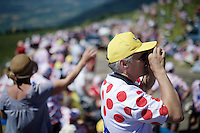 waiting for the peloton<br /> <br /> stage 15: Bourg-en-Bresse to Culoz (160km)<br /> 103rd Tour de France 2016