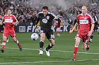 DC United  forward Jaime Moreno (99)   Chicago Fire tied DC United 1-1 at  RFK Stadium, Saturday March 28, 2009.