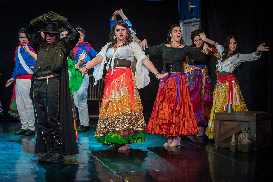 Zorro The Musical, directed by Miguel Sahid