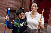 Shun Huang & Victor Lam, Bay Village, Boston, MA clean up