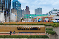 Underground Atlanta on Peachtree Fountains Plaza