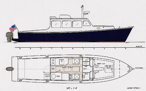 Don O'Keeffe's plans for the 33 Eco-Trawler