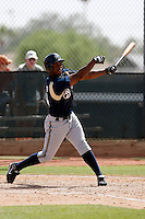Chuckie Caufield  - Milwaukee Brewers - 2009 spring training.Photo by:  Bill Mitchell/Four Seam Images