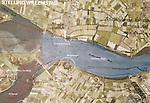 Foto: VidiPhoto<br /> <br /> NUMANSDORP – De Stichting Fort Buitensluis heeft ambitieuze plannen om het verdedigingswerk uit de 18e eeuw ingrijpend te renoveren en er een toeritische attractie van te maken. De kosten daarvoor bedragen zo'n 4 miljoen euro. Fort Buitensluis ligt aan het Hollands Diep in Numansdorp, gemeente Hoeksche Waard. Foto: Fort Buitensluis is onderdeel van de Stelling Willemstad.