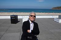 Director Abel Ferrara presents the film 'Pasolini' during the 62st San Sebastian Film Festival in San Sebastian, Spain. September 21, 2014. (ALTERPHOTOS/Caro Marin) <br /> Foto Insidefoto <br /> Festival del film di San Sebastian <br /> Foto Alterphotos/Insidefoto