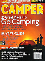 Camper Magazine Cover<br /> Photo © Cheyenne L Rouse