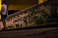 """Genoa, Italy. 19, 20, 21 July 2021. Twenty years after the dramatic and terrifying events related to the 2001 Genoa's G8 meeting, according to Amnesty International: """"the most serious suspension of democratic rights in a Western country since the Second World War"""" (1.) and as stated on the 2001 """"Report on the situation of fundamental rights in the EU"""" the European Parliament """"deplores the suspensions of fundamental rights that took place during public demos, and in particular at the G8 meeting in Genoa, such as freedom of expression, freedom of movement, the right to physical integrity"""" (2.). As a reminder, the City of Genoa is State Gold Medal (Medaglia D'Oro) for its Antifascist Resistance in World War II.<br /> Some photos, part of this story, are presented appositely in Black & White to show to the audience """"the Places"""" where the majority of - the already mentioned (see above) - """"suspensions of fundamental rights […] such as freedom of expression, freedom of movement, the right to physical integrity"""" (2.) happened.<br /> In these three days, throughout a series of events, Genoa and its People, survivors and witnesses, experts and activists, remembered what happened 20 years ago, discussed the present situation of a world dominated by """"casino capitalism"""", predatory neo-liberalism, wars, rightless globalization, ...<br /> <br /> FULL CAPTION AT THE BEGINNING OF THIS STORY.<br /> <br /> Footnotes, Links, Sources:<br /> <br /> 1. http://bit.do/fRvdg<br /> 2. http://bit.do/fRvdi<br /> 3. http://bit.do/fRvdj<br /> 4. http://bit.do/fRvdn<br /> 5. http://bit.do/fRvdo<br /> 6. http://bit.do/fRvdr<br /> 7. http://bit.do/fRvdt & http://bit.do/fRvdu<br /> 8. http://bit.do/fRvdv & http://bit.do/fRvdw & http://bit.do/fRvdx<br /> 9. http://bit.do/fRvdz<br /> 10. http://bit.do/fRvdA<br /> 11. http://bit.do/fRvdB<br /> http://www.veritagiustizia.it/doc_eng/<br /> https://www.carlogiuliani.it<br /> https://en.wikipedia.org/wiki/Death_of_Carlo_Giuliani<br /> The bloody battle of G"""