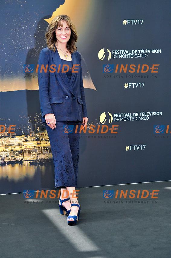 Fiona Dolman (Midsomer Murders)<br /> Monaco - 20/06/2017<br /> 57 festival TV Monte Carlo <br /> Foto Norbert Scanella / Panoramic / Insidefoto