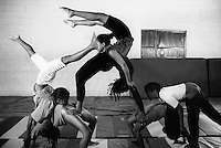 Ethiopia. Addis Ababa is the capital city and the name of a region of Ethiopia. Circus Ethiopia. A group of young women practice daily, usually in the afternoon. Human pyramid. Circus Ethiopia was legally established in 1991 with a view to introduce circus art in Ethiopia. Ever since its creation Circus Ethiopia has given new dimension to  circus art in Ethiopia but as well internationally. By blending the art with the Ethiopian traditional costume, music and dance, Circus Ethiopia with its associative approach has inspired many circuses to grow throughout Ethiopia. © 1996  Didier Ruef