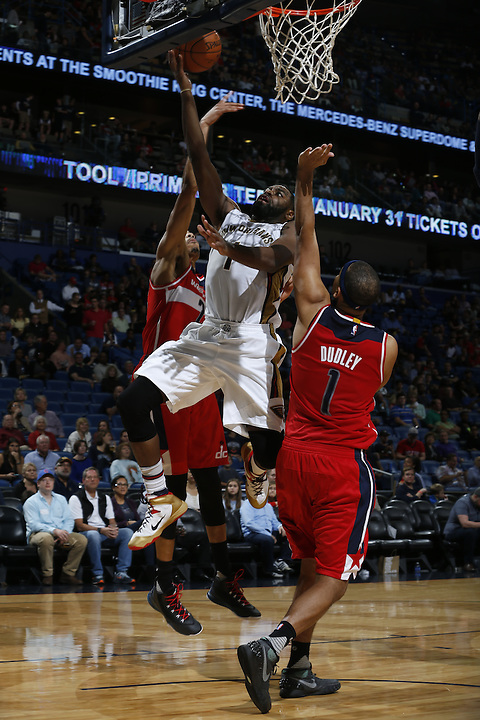 NEW ORLEANS, LA - DECEMBER 11:  during an NBA game on December 11, 2015 at the Smoothie King Center in New Orleans, Louisiana. NOTE TO USER: User expressly acknowledges and agrees that, by downloading and or using this Photograph, user is consenting to the terms and conditions of the Getty Images License Agreement. Mandatory Copyright Notice: Copyright 2015 NBAE (Photo by Jonathan Bachman/NBAE via Getty Images