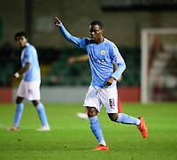 Manchester City U21's Claudio Gomes<br /> <br /> Photographer Chris Vaughan/CameraSport<br /> <br /> EFL Papa John's Trophy - Northern Section - Group E - Lincoln City v Manchester City U21 - Tuesday 17th November 2020 - LNER Stadium - Lincoln<br />  <br /> World Copyright © 2020 CameraSport. All rights reserved. 43 Linden Ave. Countesthorpe. Leicester. England. LE8 5PG - Tel: +44 (0) 116 277 4147 - admin@camerasport.com - www.camerasport.com