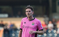 Goal scorer Shaun Brisley of Northampton Town during the Sky Bet League 2 match between Wycombe Wanderers and Northampton Town at Adams Park, High Wycombe, England on 3 October 2015. Photo by Andy Rowland.