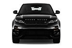 Car photography straight front view of a 2020 Land Rover Range Rover Evoque First Edition 5 Door SUV