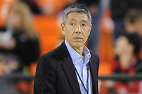 Washington D.C. - March 8, 2014: D.C. United Genral Partner William H.C. Chang. The Columbus Crew defeated D.C. United 3-0 during the opening game of the 2014 season at RFK Stadium.