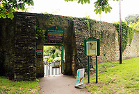 Pictured: The entrance to the gardens. Friday 07 July 2017<br /> Re: Botanical Gardens in Singleton Park, Swansea, Wales, UK.