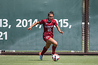 STANFORD, CA - SEPTEMBER 12: Andrea Kitahata during a game between Loyola Marymount University and Stanford University at Cagan Stadium on September 12, 2021 in Stanford, California.