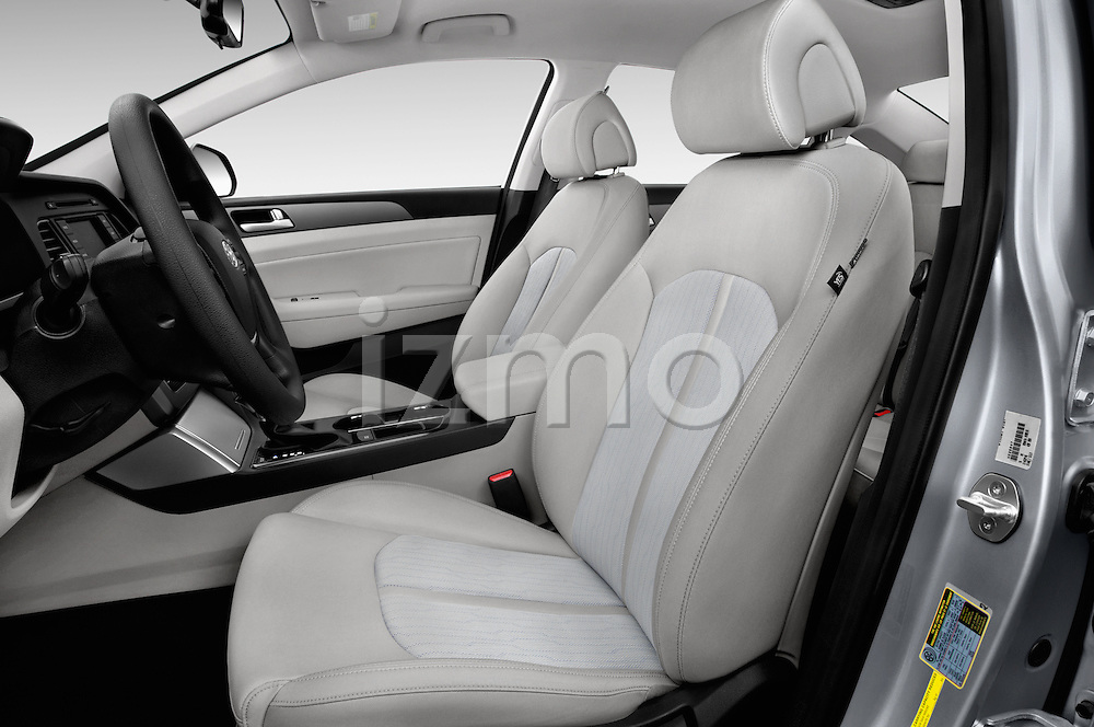 Front seat view of 2016 Hyundai Sonata Hybrid SE 4 Door Sedan Front Seat car photos