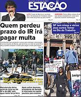 02.05.2017 - Doria enfrenta ciclistas pelo 2º dia e dedica flores do 'mal' a Dilma e Lula. (Foto: Fábio Vieira/FotoRua)