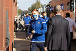 Rangers v St Johnstone…25.04.21   Ibrox.  Scottish Cup<br />Liam Craig makes his way into Ibrox after arriving for this evenings Scottisah Cup tie against Rangers<br />Picture by Graeme Hart.<br />Copyright Perthshire Picture Agency<br />Tel: 01738 623350  Mobile: 07990 594431