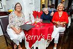 Enjoying the evening in Cassidys on Saturday, l to r: Breda O'Dowd, Patrick O'Brien and Ann O'Dowd O'Brien from Ballyduff