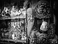 Buddha heads in Hanoi