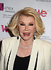 Joan Rivers attends the 2013 Matrix Awards on April 22, 2013 at the Waldorf Astoria Hotel in New York City. The New York Women in Communications presented the awards.