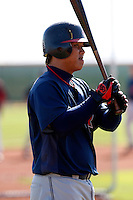 Chun-Hsiu Chen  -  Cleveland Indians - 2009 spring training.Photo by:  Bill Mitchell/Four Seam Images
