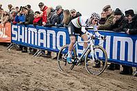 CX World Champion Sanne Cant (BEL/Iko-Crelan)<br /> <br /> Women's Race<br /> UCI cyclocross WorldCup - Koksijde (Belgium)<br /> <br /> ©kramon