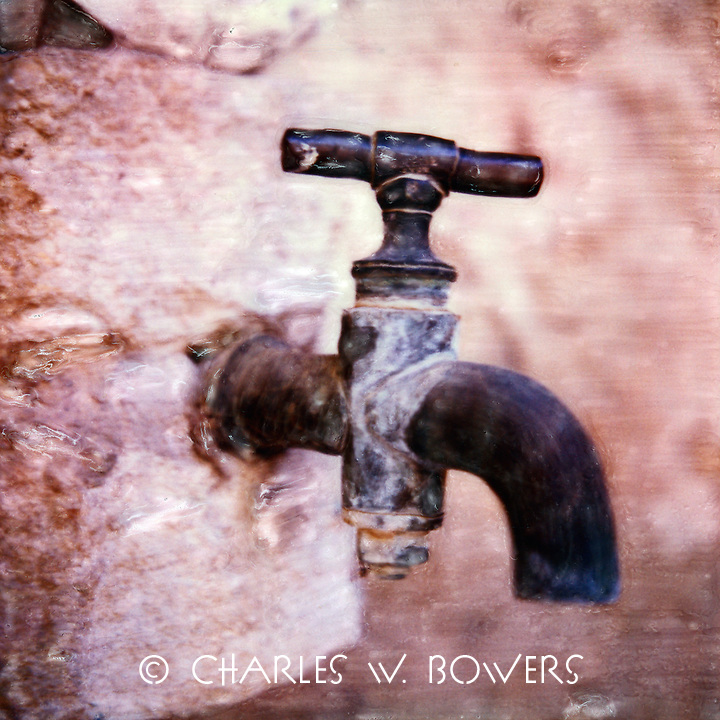 Proches faucet serves the family villa with water on demand for the courtyard and gardens.<br /> <br /> -Limited Edition of 50 Prints