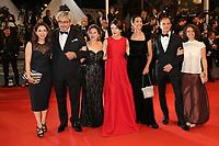 THE CAST OF THE FILM 'LA NOVIA DEL DESIERTO' - RED CARPET OF THE FILM 'GOOD TIME' AT THE 70TH FESTIVAL OF CANNES 2017 # 70EME FESTIVAL DE CANNES - REDCARPET 'GOOD TIMES'