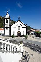 Kirche in Velas auf der Insel Sao Jorge, Azoren, Portugal