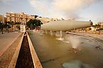 El Submarino de Isaac Peral en el Puerto de Cartagena.