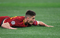 Roma s Patrik Schick lies on the pitch during the Uefa Champions League quarter final second leg football match between AS Roma and FC Barcelona at Rome's Olympic stadium, April 10, 2018.<br /> UPDATE IMAGES PRESS/Riccardo De Luca