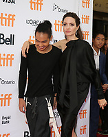 ANGELINA JOLIE WITH HER SON MADDOX - RED CARPET OF THE FILM 'FIRST THEY KILLED MY FATHER' - 42ND TORONTO INTERNATIONAL FILM FESTIVAL 2017
