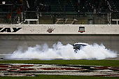 Monster Energy NASCAR Cup Series<br /> Go Bowling 400<br /> Kansas Speedway, Kansas City, KS USA<br /> Saturday 13 May 2017<br /> Martin Truex Jr, Furniture Row Racing, Auto-Owners Insurance Toyota Camry celebration<br /> World Copyright: Barry Cantrell<br /> LAT Images<br /> ref: Digital Image 17KAN1bc4727