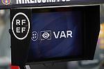 VAR tv during La Liga match. August 15, 2021. (ALTERPHOTOS/Acero)