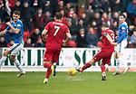 St Johnstone v AberdeenÖ23.02.19Ö  McDiarmid Park    SPFL<br /> Graeme Shinnie scores his second goal<br /> Picture by Graeme Hart. <br /> Copyright Perthshire Picture Agency<br /> Tel: 01738 623350  Mobile: 07990 594431